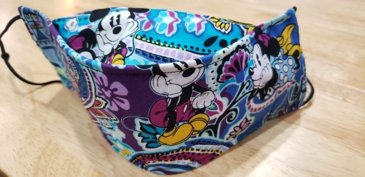 Vera B Purple Paisley Mouse-