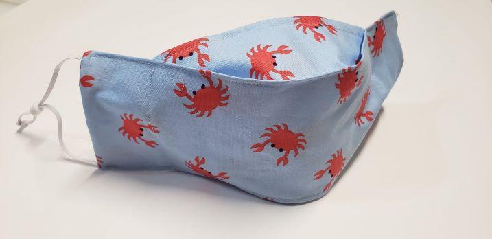 Crabby blue-