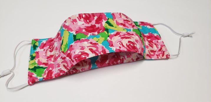 Sassy pink floral-