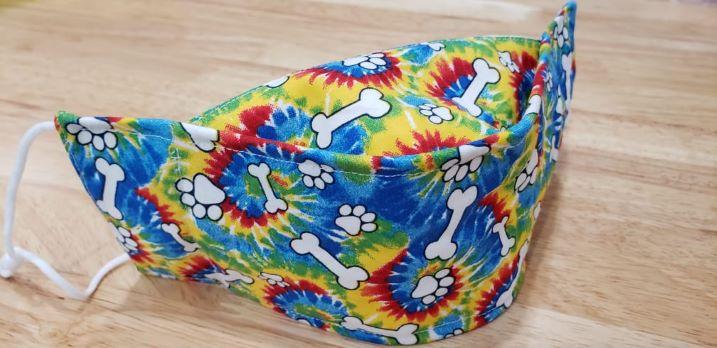 Tie Dye Paws-